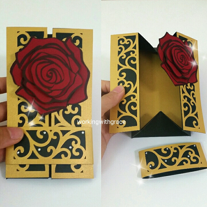 3d greeting cards working with grace card atelier handmade greeting card m4hsunfo