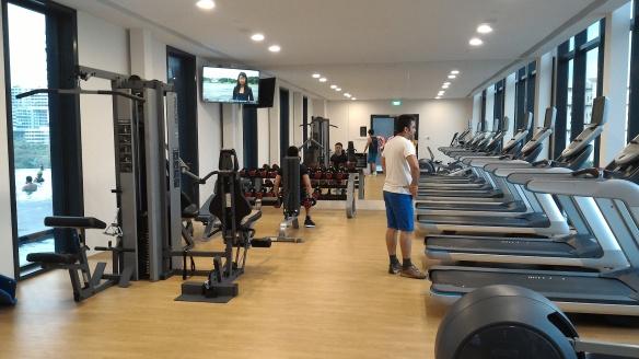 Park Hotel Alexandra gym