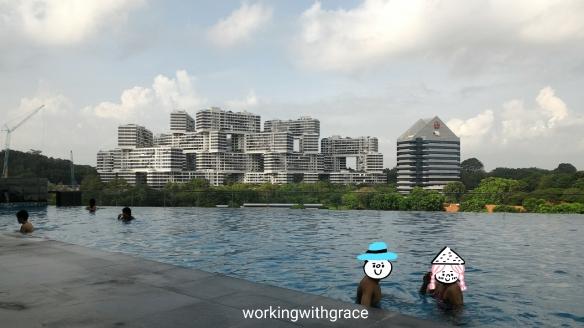 Park Hotel Alexandra infinity pool
