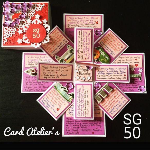 SG50 handmade card