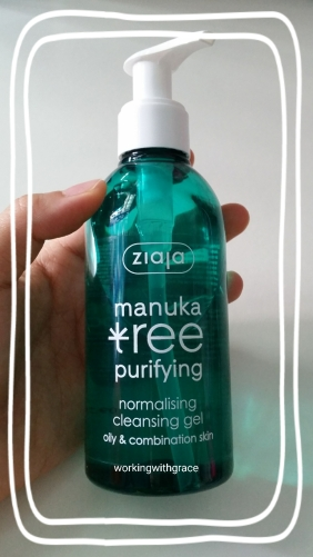 Ziaja Manuka Tree Purifying Normalising Cleansing Gel