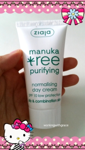 Ziaja Manuka Tree Purifying Normalising Day Cream