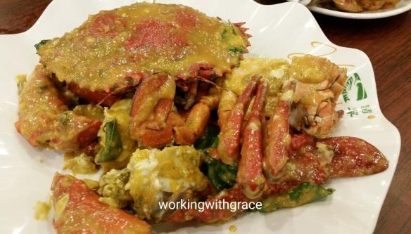 Jade Garden Seafood Salted Egg Crab