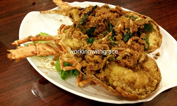 Jade Garden Seafood Special Fried Lobster
