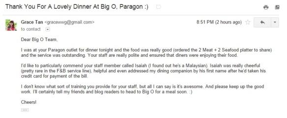 Big O Paragon