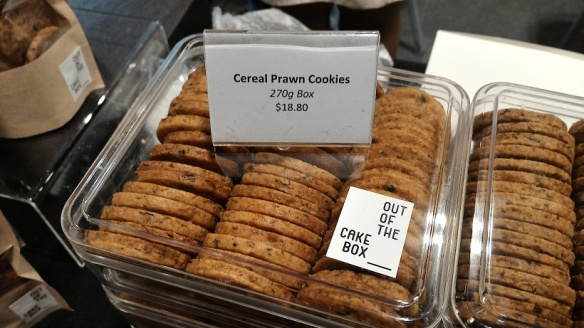 Cereal Prawn Cookies