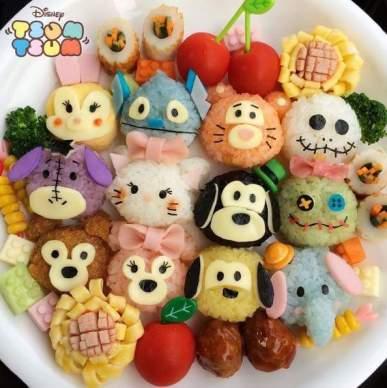 Disney Tsum Tsum Bento