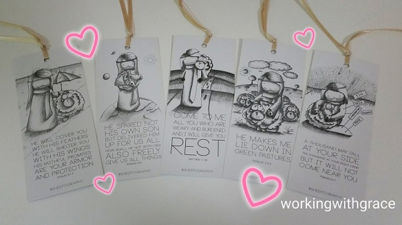Sheepography bookmarks