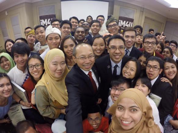 ASEAN4U with malaysian minister
