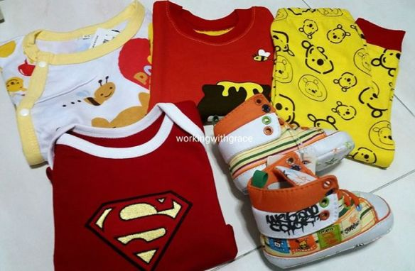 Baby clothes from JB