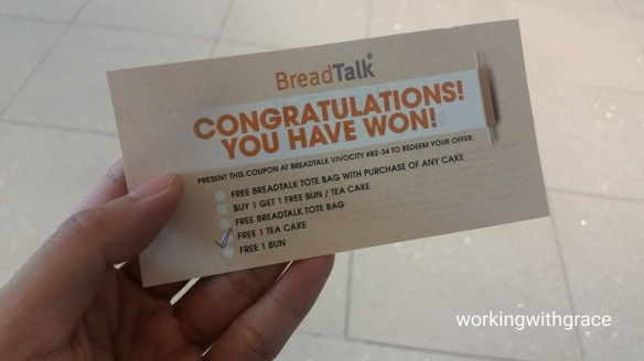BreadTalk voucher