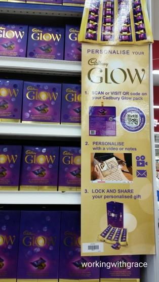 Cadbury GLOW supermarket