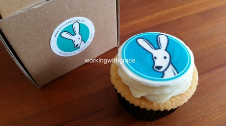 Deliveroo Plain Vanilla Cupcakes