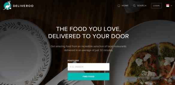 Deliveroo Website