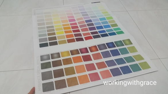 Dulux Ambiance Color Chart