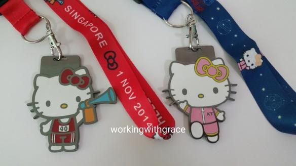 Hello Kitty Run Medals