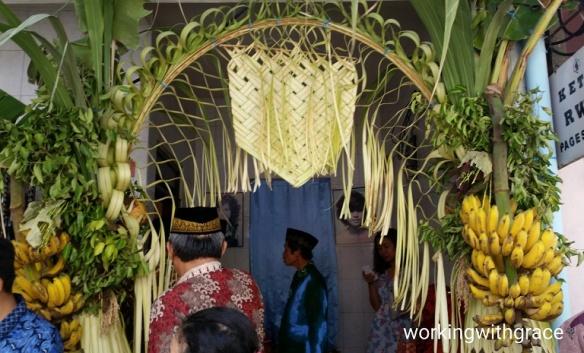 Javanese wedding custom