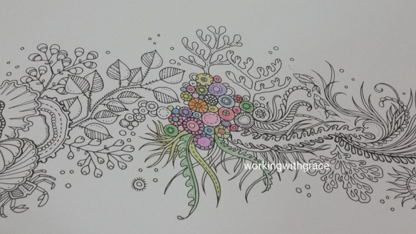 Giveaway Lost Ocean Coloring Book By Johanna Basford