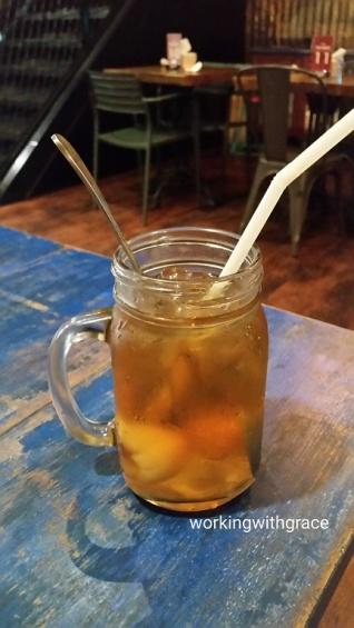 kedai tua baru lychee tea