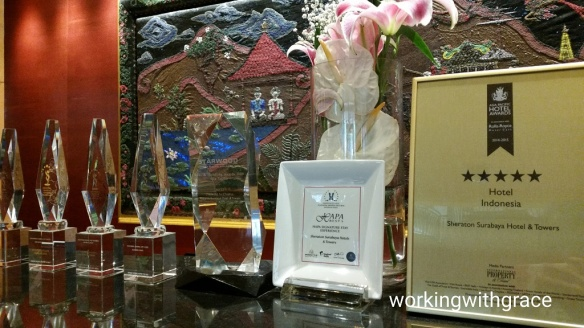 Sheraton Surabaya Hotel and Towers awards