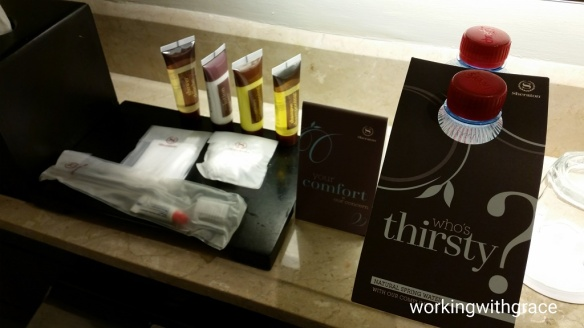 Sheraton Surabaya Hotel and Towers toiletries