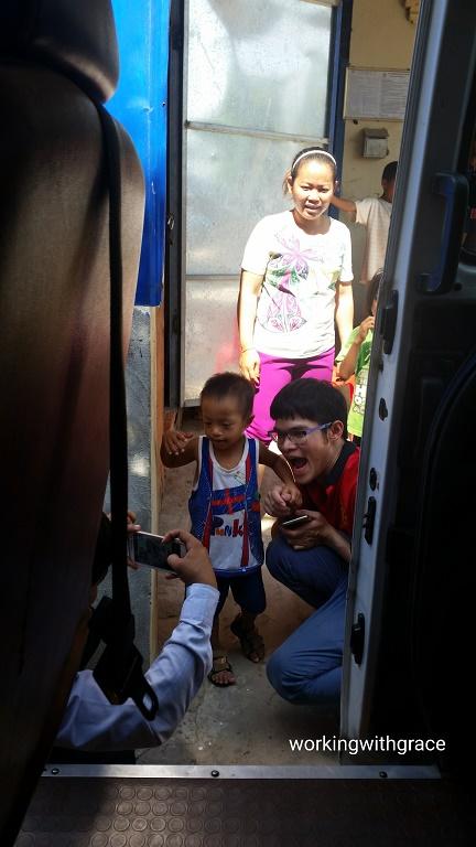 Cambodian kid