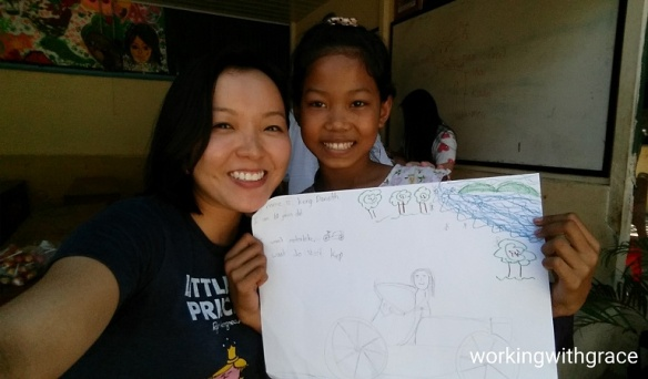 Cambodian child art