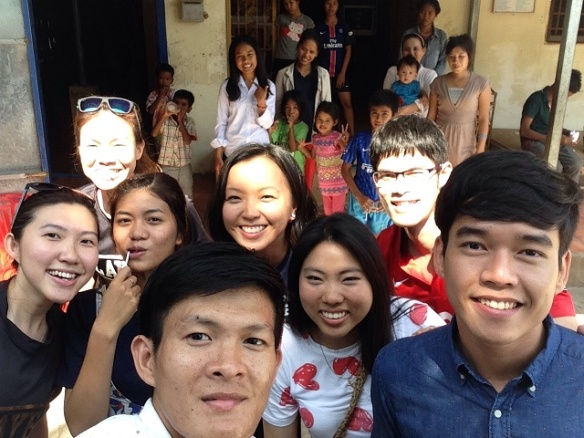 ASEAN youth leaders in Cambodia