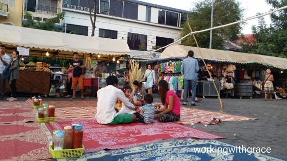 Cambodia Phnom Penh Night Market