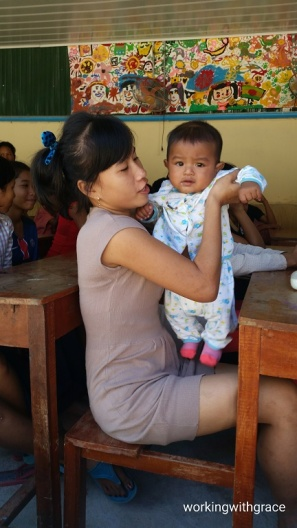 Cambodian orphanage visit