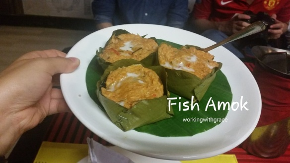 Cambodia Fish Amok