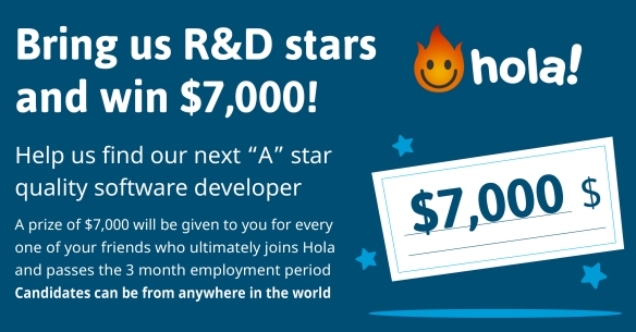 Hola referral program