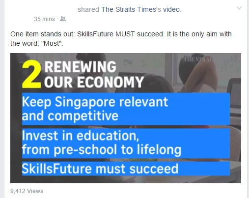 Skills Future MUST succeed