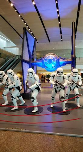 Star Wars at Changi Airport Terminal 2