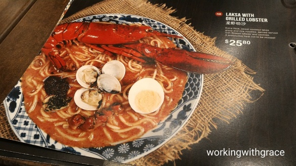 The Coffee House Laksa with Grilled Lobster