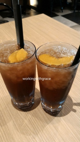 The French Table Iced Peach Tea