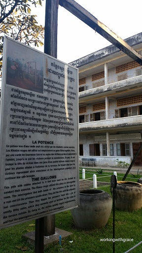 Tuol Sleng Gallows torture device