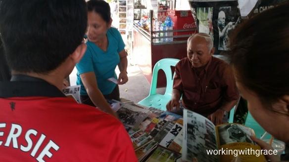 Tuol Sleng survivor Chum Mey