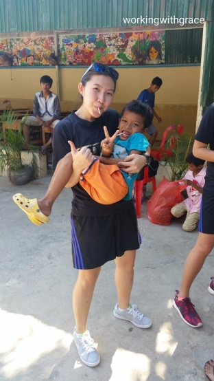 Volunteering at a Cambodian Orphanage