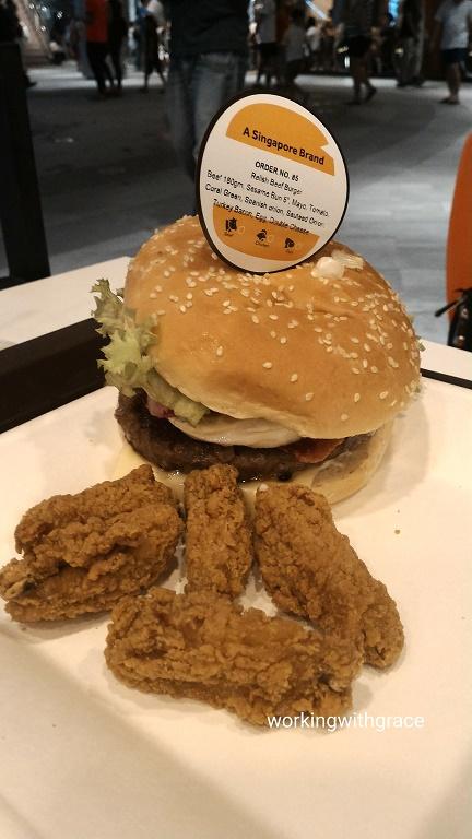 Waterway Point BurgerUp Relish Beef Burger