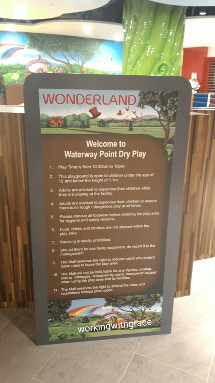 Waterway Point Indoor Playground Rules
