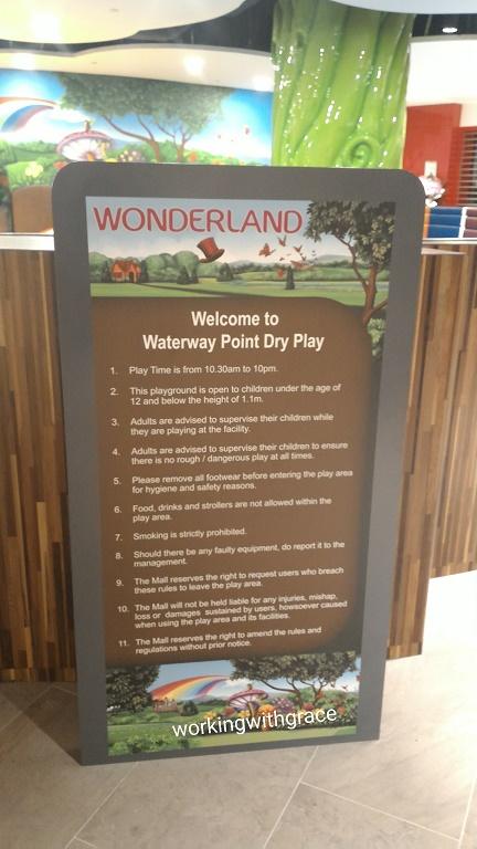 Waterway Point Indoor Playground Rules