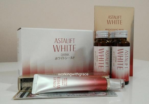 Astalift White product range