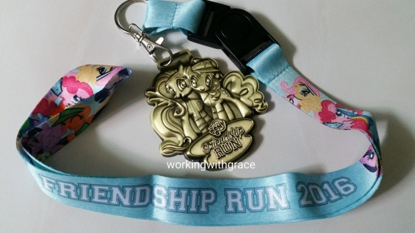 My Little Pony Friendship Run Medal