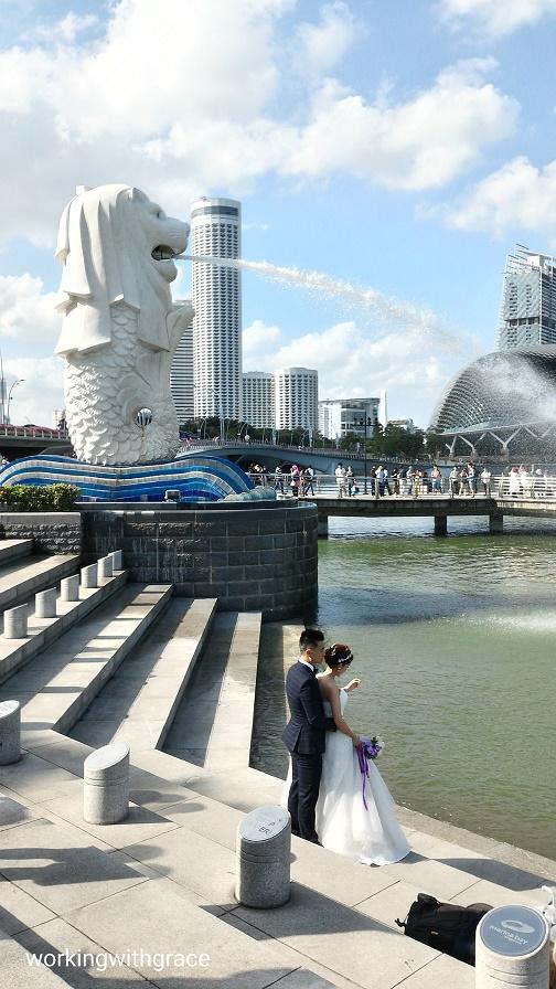 Singapore Merlion Park