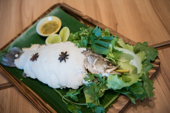 Zakka Waterway Point Salt Baked Fish