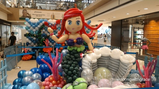 Balloon Mermaid