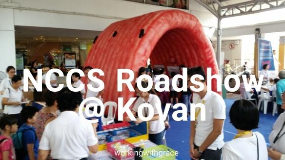 National Cancer Centre Singapore roadshow