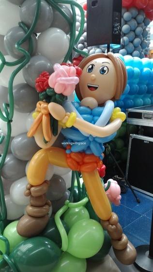 Prince Balloon Sculpture