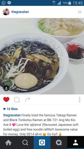 Takagi Ramen Shop instagram